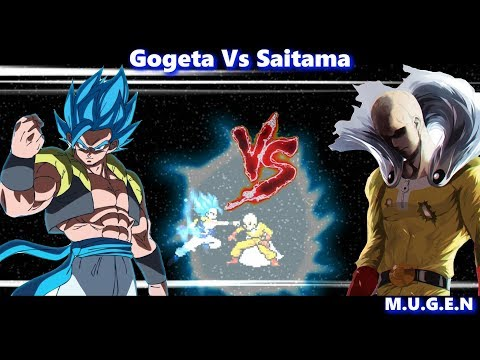 [What-IF] Gogeta(All Forms) Vs Saitama (One Punch Man) || Sprites