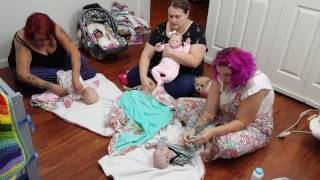 ADULTS WHO PLAY WITH DOLLS! BABY'S THAT NEVER GROW UP! REBORN BABY DOLLS
