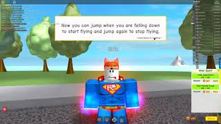 Invincibility in Roblox Super Power Training Simulator (Nathorix Reupload)