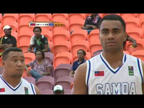 Pacific Games   2015 BASKETBALL  G6 GUAM vs SAMOA