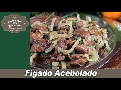 Fígado Acebolado - Lembranças com Água na Boca - Chef Taico