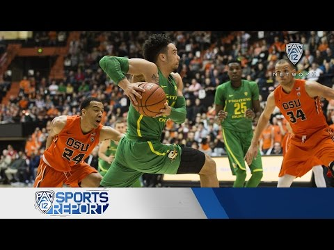 Highlights: No. 6 Oregon men's basketball beats rival Oregon State to claim share of Pac-12 title