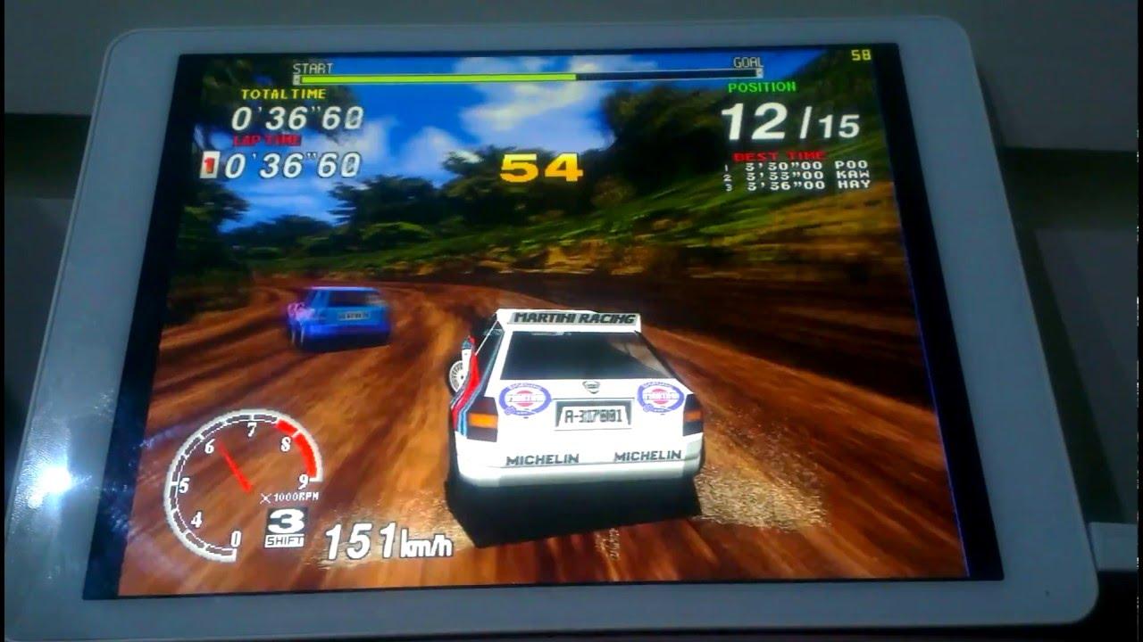 Teclast X98 Pro Sega Model 2 & 3 Emulators