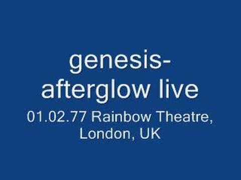 genesis- afterglow live