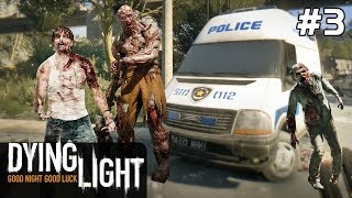 Dying Light Gameplay PC PL / FULL DLC [#3] Bagażnik POLICJI?! /z Skie