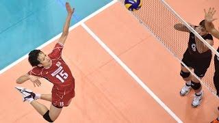 Masahiro Yanagida まさひろ柳田 (part 2) - FIVB 2015 World Cup Japan vs Canada Men's Volleyball Highlights