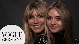 Leni & Heidi Klum: Their very first interview together | VOGUE Germany