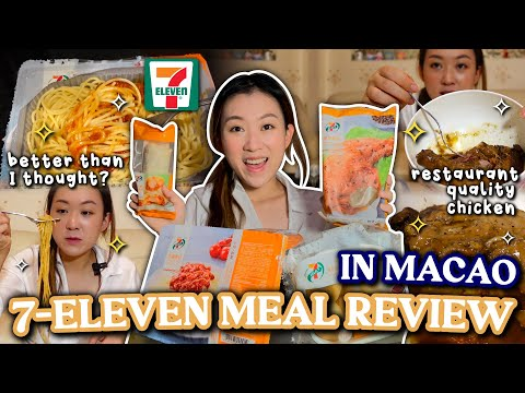 MACAO 7-Eleven Food Review *better than expected*