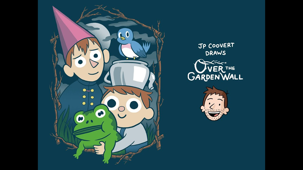 Over the garden wall illustration process youtube for Over the garden wall watch online