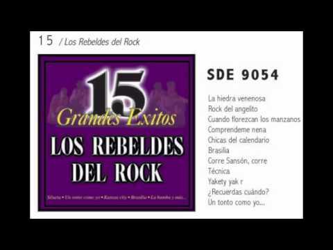 La Hiedra Venenosa -- Los Rebeldes Del Rock