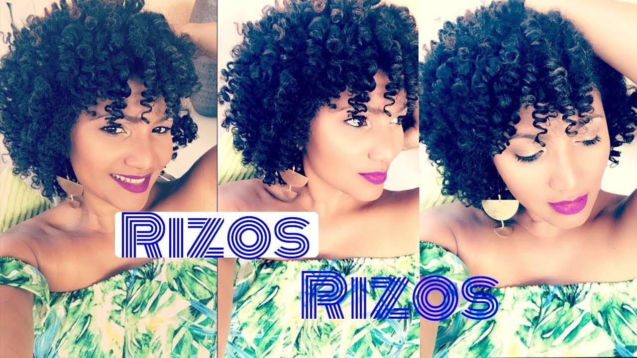 Como Rizar El Pelo Afro Natural Cabello En Transicion