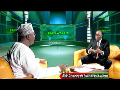BANK OF INDUSTRY, SUSTAINING THE DIVERSIFICATION MANDATE IN NIGERIA