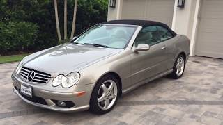 2004 Mercedes-Benz CLK500 AMG Sport Review and Test Drive by Auto Europa Naples MercedesExpert.com