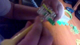 видео урок по плетению браслета шотти
