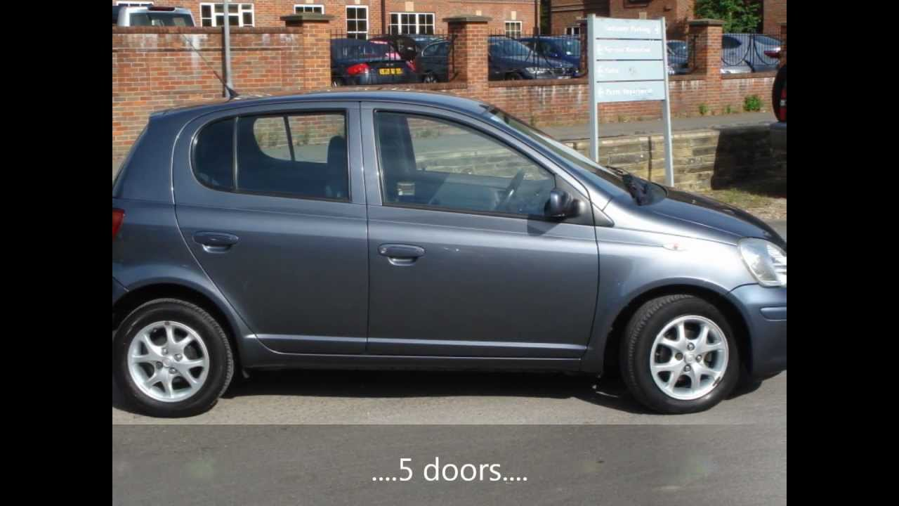 2005 toyota yaris blue vvt i 5dr hatchback youtube. Black Bedroom Furniture Sets. Home Design Ideas