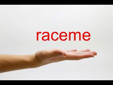 How to Pronounce raceme - American English