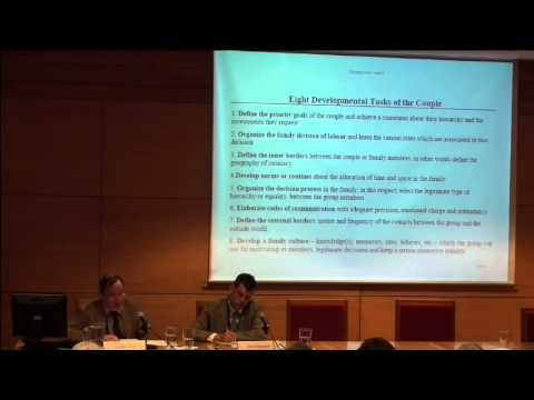 CONFERENCE - RESEARCH ON FAMILIES AND FAMILY POLICIES IN EUROPE -  Jean Kellerhals - Part 1