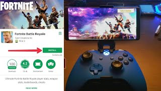 How To Play Fortnite On Android NO HUMAN VERIFICATION - Before Release