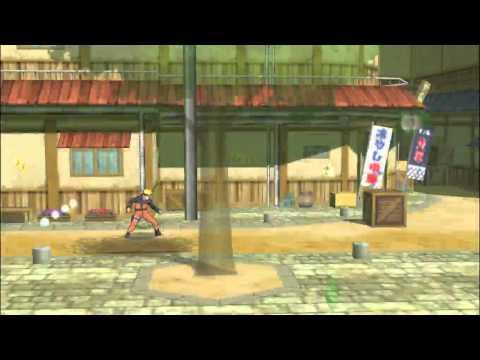 Прохождение Naruto Ultimate Ninja Heroes 3 глава 1-Пролог, Акт 1-Два и Улучшение