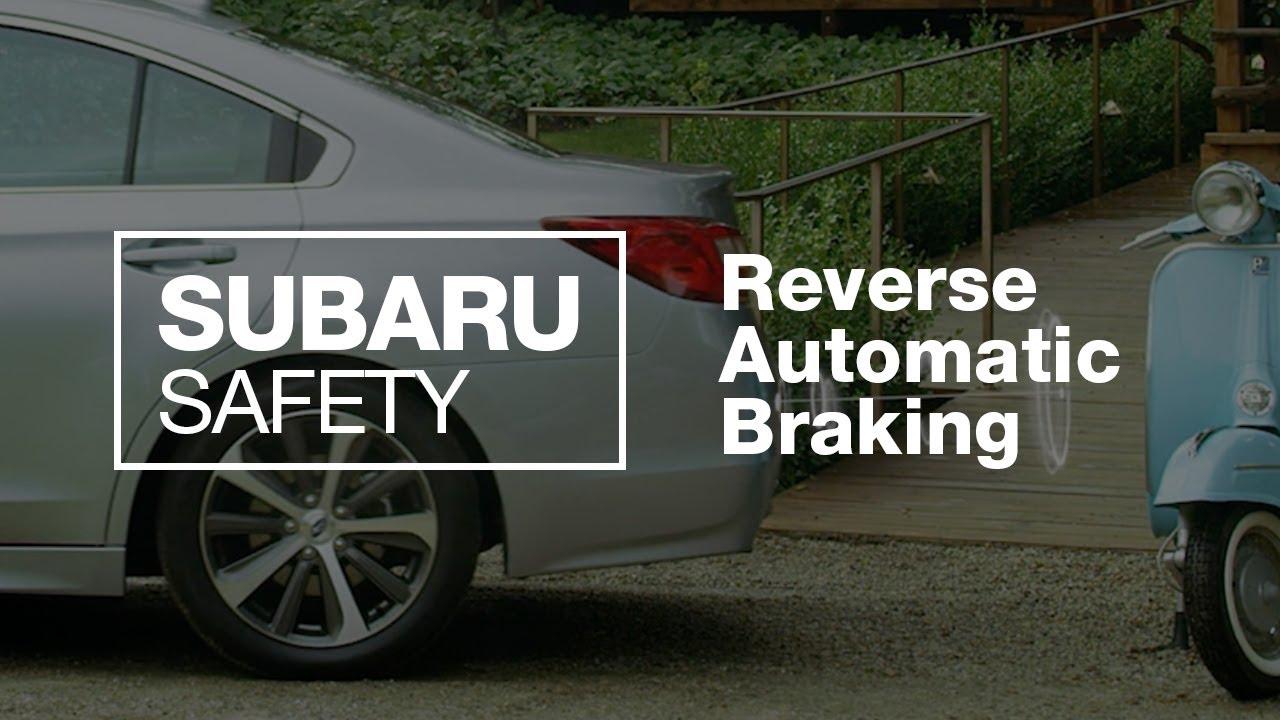 Subaru Reverse Automatic Braking Explained (2020 Updated)