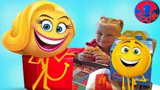 Ярослава на Шопинге! Покупаем Игрушки и Подарки! McDonald