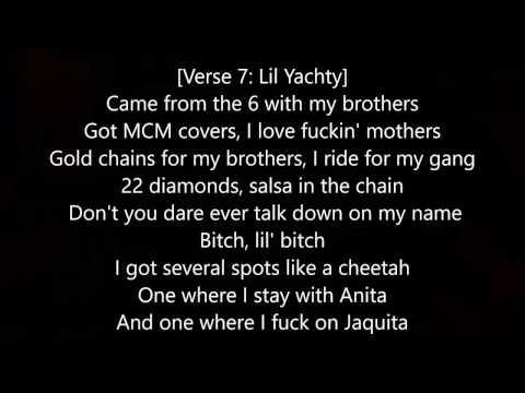 Lil Yachty ft A$AP Ferg Terminator LYRICS