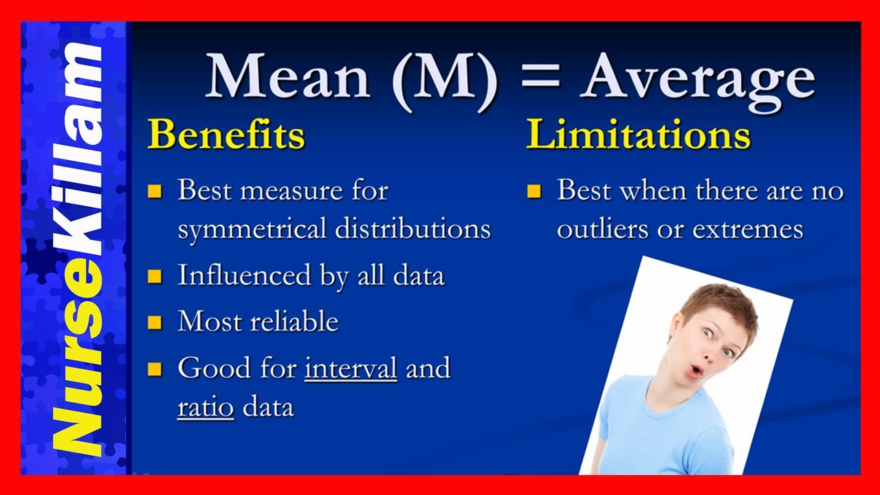 measures of central tendency mean medium Central tendency the term central tendency refers to the middle value or perhaps a typical value of the data, and is measured using the mean, median, or modeeach of these measures is calculated differently, and the one that is best to use depends upon the situation mean the mean is the most commonly-used measure of central tendency.