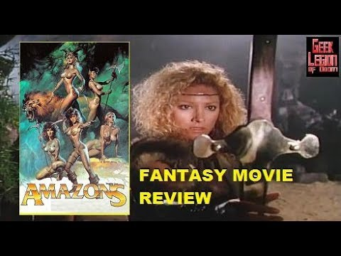 AMAZONS ( 1986 Mindi Miller ) Sword & Sorcery Fantasy Movie Review