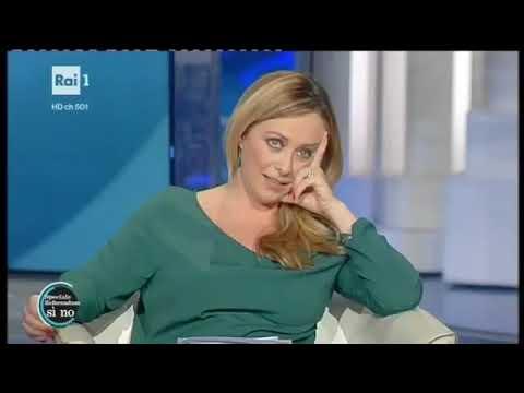 Quando Renzi e Vespa cercarono di zittire Giorgia Meloni...