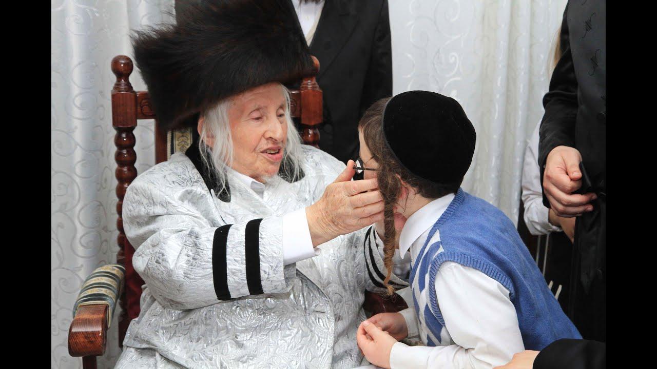 האדמור מקאליב  הרב רבי מנחם מנדל טאוב בבית שמש HOLOCAUST SURVIVOR KALIV REBBE