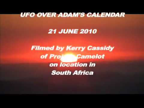 PROJECT CAMELOT : UFO OVER ADAM'S CALENDAR | 2017