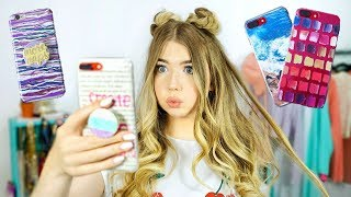 7 DIY Phone Cases & PopSocket Crafts! + Phone Life Hacks!