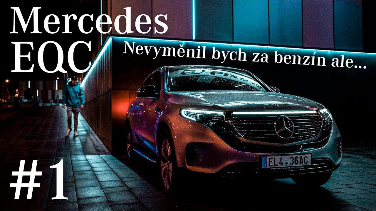 ⚡Poprvé jsem řídil elektromobil!⚡| Mercedes EQC | Nevyměnil bych za benzín ale...