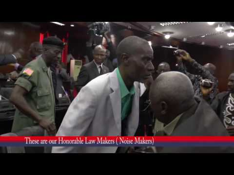 Liberian Lawmakers caught on Camera Arguing