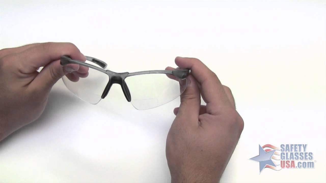9c6ea38102 Elvex RX200 Bifocal Safety Glasses Review - YouTube