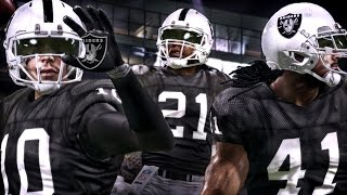 Madden 16 Online Franchise ☠ OAKLAND RAIDERS ☠ DRAFT & FREE AGENTS Ep. 1