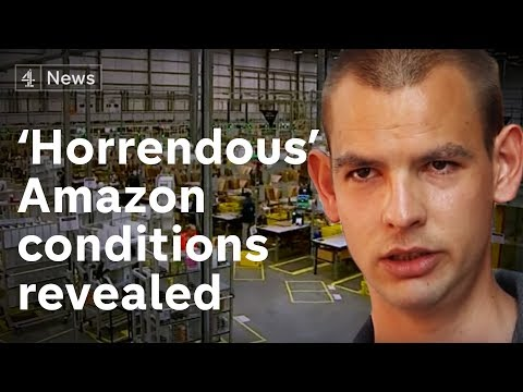 Ex-Amazon workers talk of 'horrendous' conditions
