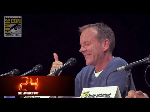 24: LIVE ANOTHER DAY  Kiefer Sutherland and Jon Cassar with 24 at ComicCon 2014  FOX HD
