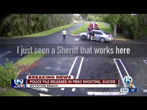 PBSO deputy shoots ex-girlfriend, violence captured on surveillance video
