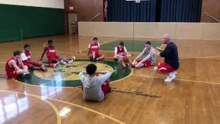 South Boston Stars - 03/21/2017 - 8th/9th Grade - AAU Basketball Practice - Coach's Film