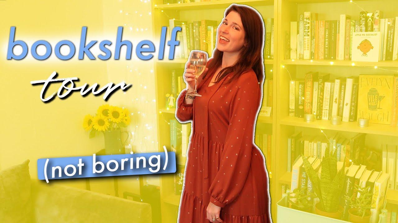 A bookshelf tour that isn't boring | Drinking By My Shelf