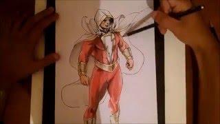 Drawing Shazam
