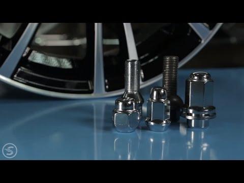 Как закрепить диски на автомобиле?