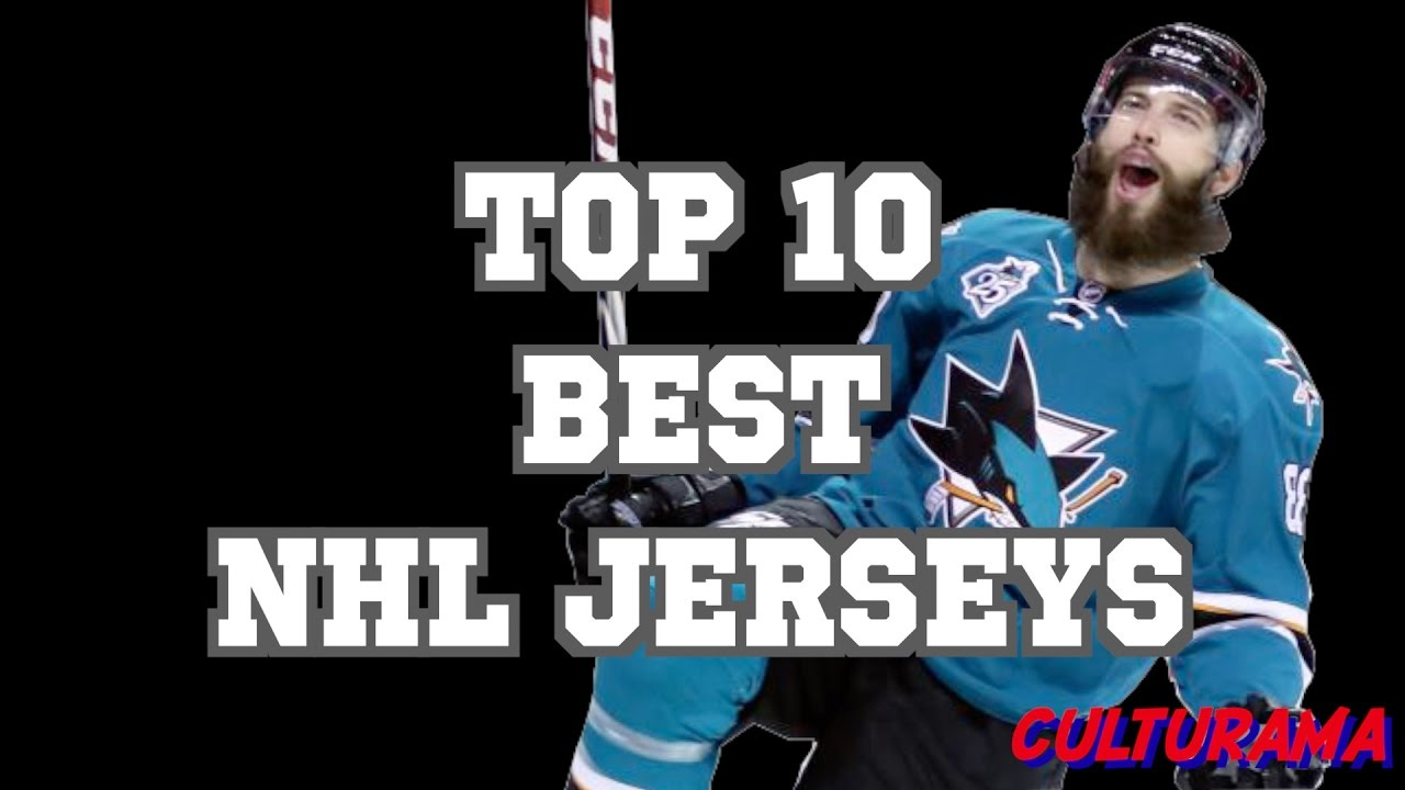 top nhl jerseys