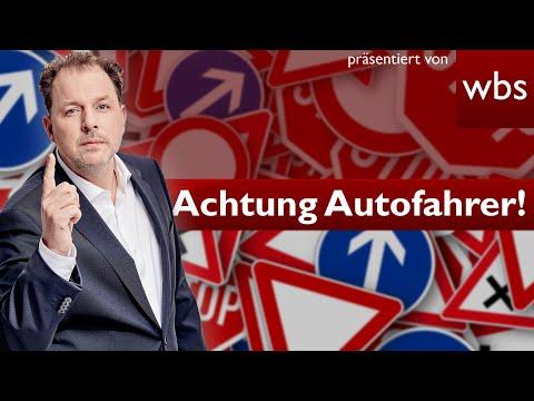 Achtung Autofahrer: Neuer Bußgeldkatalog ab morgen - Es wird teuer! | RA Christian Solmecke