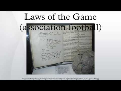 Laws of the Game (association football)