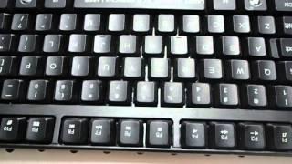Gaming keyboard laser marking machines - keyboards laser engraving machine