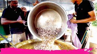 Massive INDIAN WEDDING FOOD for 1,500 People! Kasaragod, Kerala, India