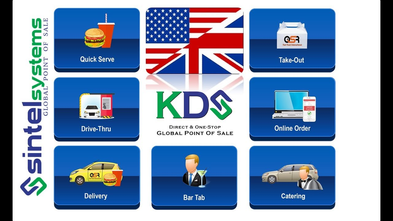 Kitchen Display System KDS POS - YouTube