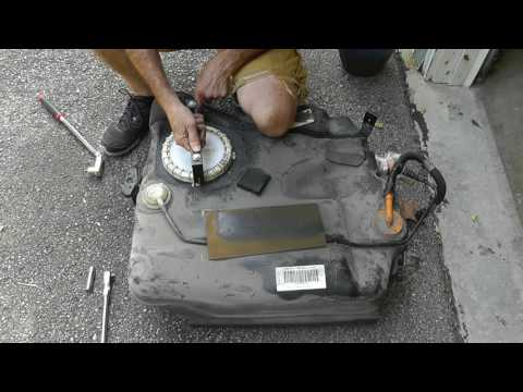 2005 Mazda 3 Fuel Pump Replacement: Part 2 - Fuel Pump and Tank Replacement